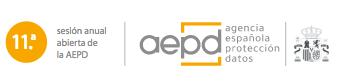 La AEPD centra su 11ª Sesión Anual Abierta en hacer balance tras 200 días de aplicación de la Ley Orgánica de Protección de Datos