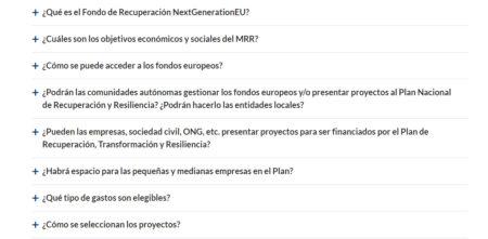 España | La Moncloa publica unas FAQ sobre los Fondos NextGenerationEU