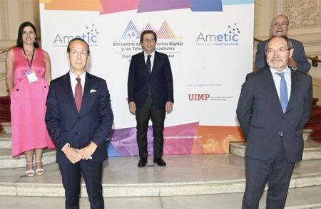AMETIC clausura su mayor evento con una gran participación institucional, empresarial y de audiencia superando con éxito el desafío de la covid-19