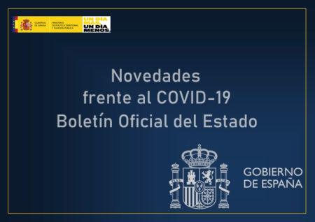 Ya podéis consultar el #BOE con las nuevas medidas del Gobierno para hacer frente al #COVID19 y resto de contenidos publicados el 23 y 24 de mayo de 2020