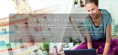 El Ayuntamiento de Alcalá de Henares pone en marcha el servicio de Cita Previa extendido para gestiones municipales