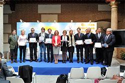 Representantes de Sevilla, Lorca, Zaragoza, Gibraleón y Soria