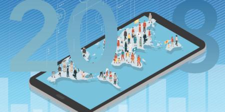Más de la mitad de la población mundial se conectó a Internet en 2018