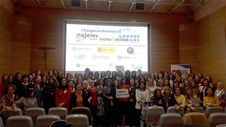 Más de 150 mujeres de las administraciones debaten sobre la igualdad en el sector público