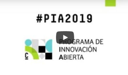 Abierta la convocatoria del programa de Innovación Abierta #PIA2019