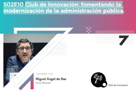 Escucha la entrevista a Miguel de Bas en Radio Villainnova ¡Escucha el podcast!