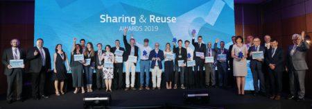 Resultados de los premios Sharing & Reuse