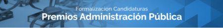 Formalización de candidaturas Premios Administración Pública asLAN