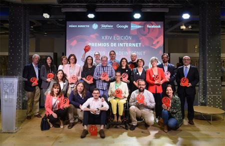 Elegidos los ganadores de la XXIV edición de los  Premios del Día de Internet