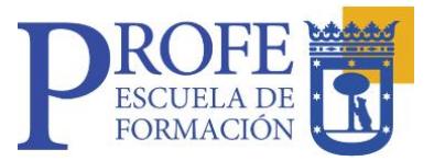 Portal PROFE: Programa de Formación de Empleados