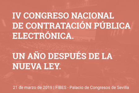 Sevilla será el centro de la Contratación Pública el jueves 21