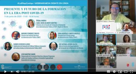 Vídeo EFIAP Región de Murcia: Presente y futuro de la formación en la era post Covid-19