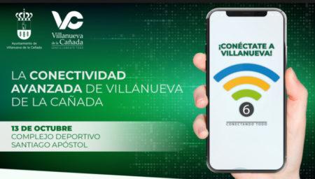 Villanueva de la Cañada presenta su proyecto WiFi 6